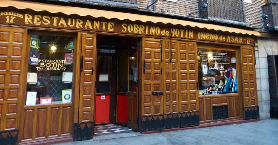Botin's restaurant, Madrid